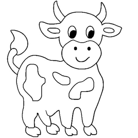 Cow Template cow coloring part 2