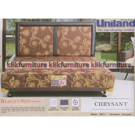 Harga Merk Kasur Uniland beautybed fi chrysant uniland springbed diskon promosi