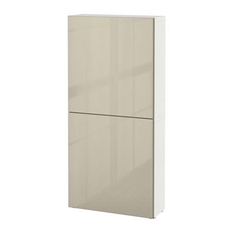 ikea besta cabinets best 197 wall cabinet with 2 doors white selsviken high