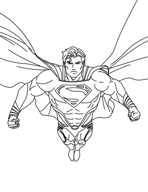 a superman sty coloring page free coloring pages of