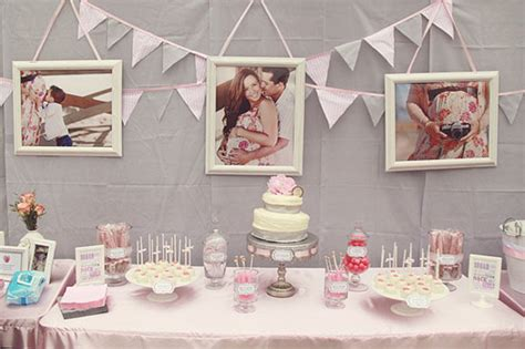 Gray And Pink Baby Shower by Pink Gray Baby Shower The Umbrella
