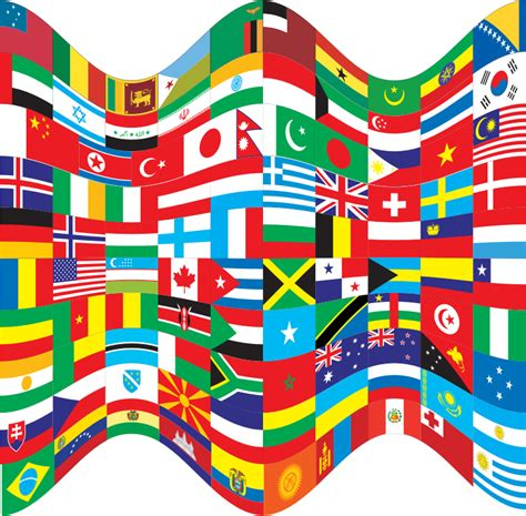 flags of the world download png clipart world flags wavy