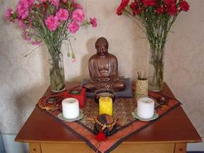 Buddhist Altar Designs For Home by Altar Ego Hoarded Ordinaries