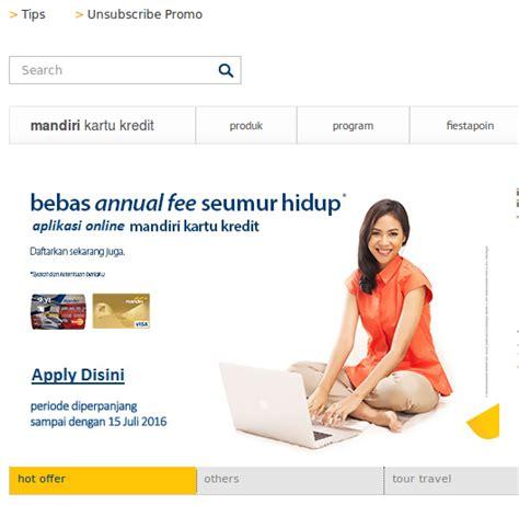 kartu kredit free annual fee for kartu kredit bank mandiri yg free iuran tahunan
