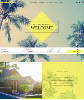Free Website Templates Page 24 Guest House Website Templates Free