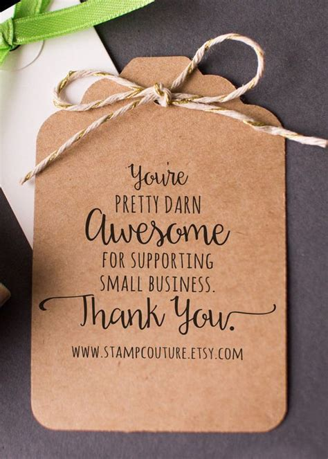 Custom Gift Cards For Small Business - 25 best ideas about business thank you cards on pinterest thank you tags ideas for