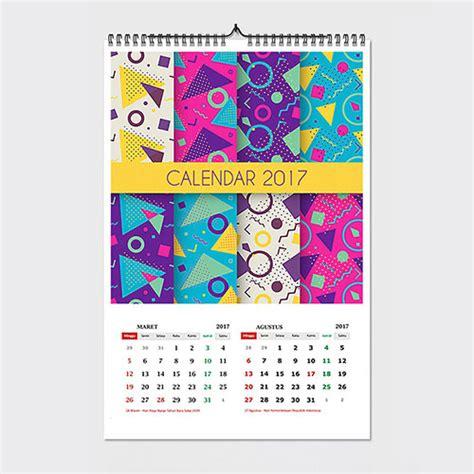 cetak kalender meja dan dinding 2017 satuan murah cetak