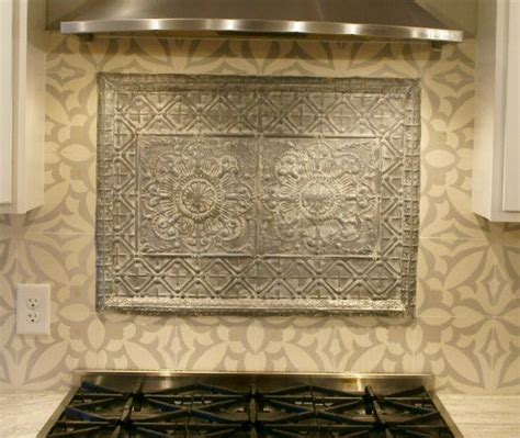 tin ceiling tile combined with avente tile s zebra b 8 quot x
