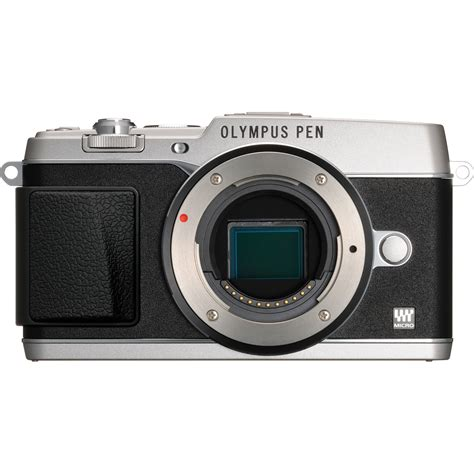 olympus mirrorless digital olympus pen e p5 mirrorless micro four thirds v204050su000 b h