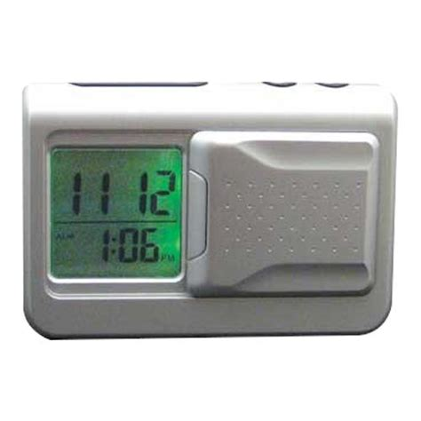 reizen shake n lite vibrating travel alarm clock alarm clocks watches timers
