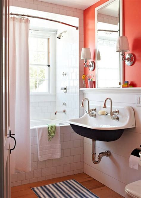 Fresh Bathroom Ideas by Orange Bathroom Decor Ideas
