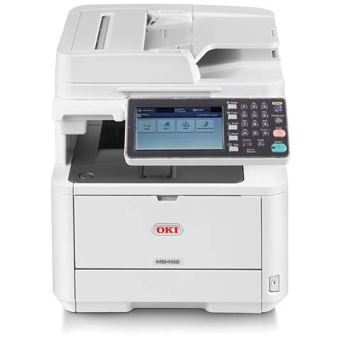 Printer Oki oki mb492dn a4 mono multifunction led laser printer 45858402