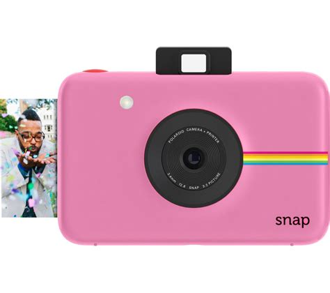 buy a polaroid buy polaroid snap instant pink free delivery