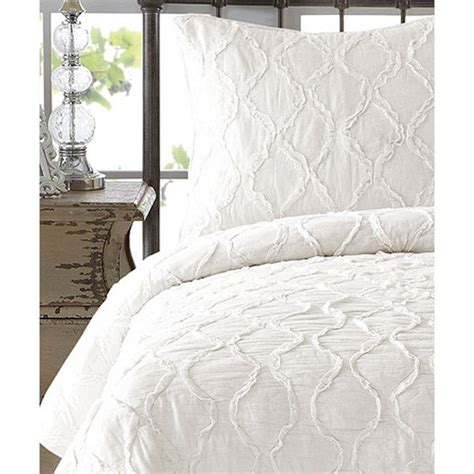 cream colored bedding nmk bedding antique white wavy handcrafted ruffled quilt