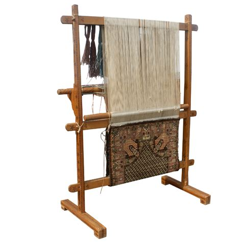 rug weaving loom antique vertical weaving loom with rug
