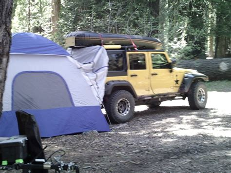jeep wrangler tent cing taking a nap in a jku jeepforum