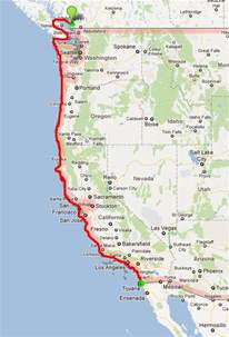 will be cycling the pacific coast highway from vancouver