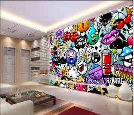 com buy custom baby wallpaper colorful graffiti 3d wallpaper colourful clouds wall mural abstract wallpapers wallpaper ink