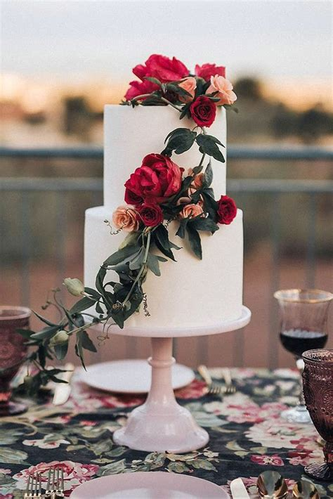 Affordable Wedding Cakes by Best 25 Floral Wedding Cakes Ideas On