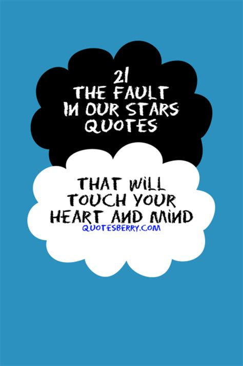 theme quotes in the fault in our stars 21 the fault in our stars quotes that will touch
