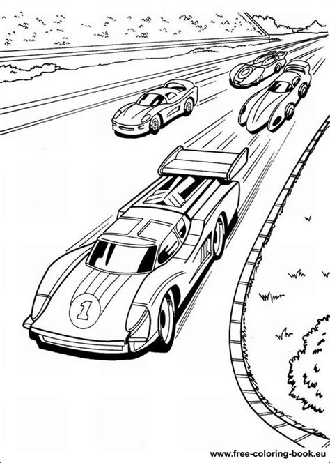free coloring pages of hot wheels para colorear