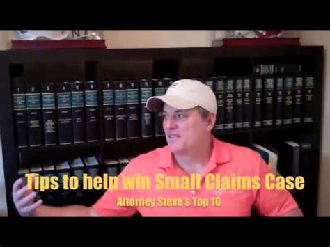 Small Claims Court Search How To Win A Small Claims Court Lawsuit Youtubeexcitingads Excitingads