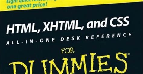 C All In One Desk Reference For Dummies Pdf by Ebooks Collection Dummies Html Xhtml And Css All In One