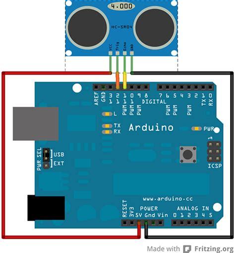arduino code for ultrasonic sensor ultrasonic arduino
