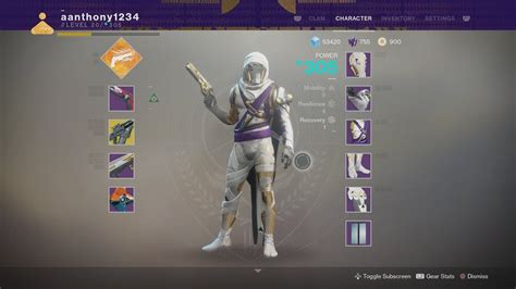 destiny 2 max light destiny 2 full raid gear hunter 305 light youtube