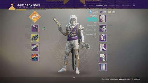highest light in destiny 2 destiny 2 full raid gear hunter 305 light youtube