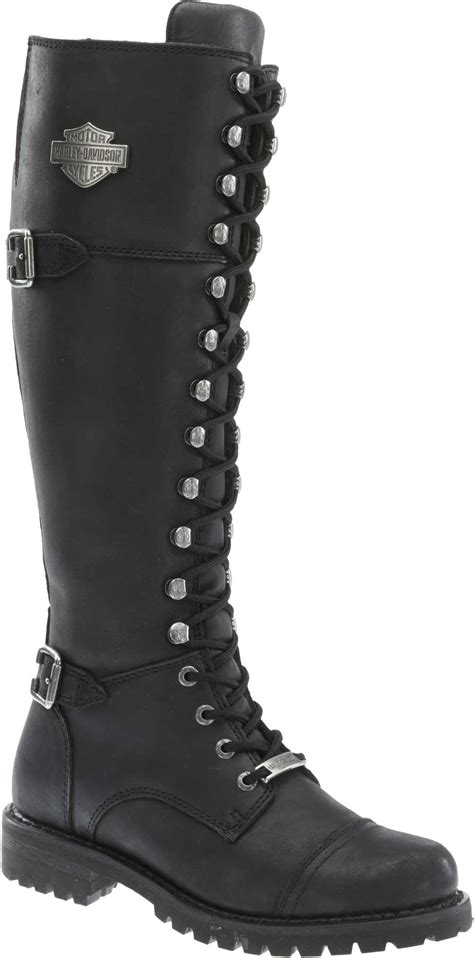 female motorcycle riding boots book of harley davidson womens biker boots in thailand by