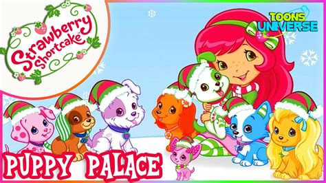 strawberry shortcake puppy palace strawberry shortcake puppy palace pet salon dress up care for children hd