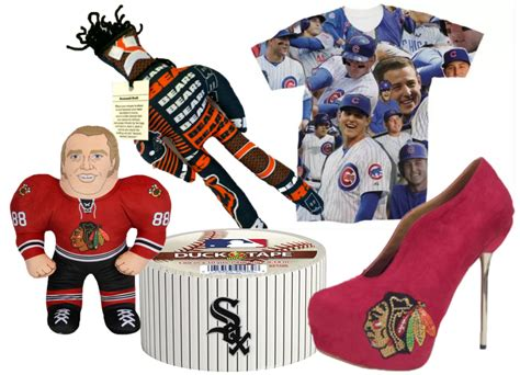 top 10 unusual holiday gift ideas for chicago sports fans