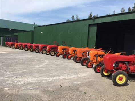porsche tractors is this the world s largest porsche tractor collection