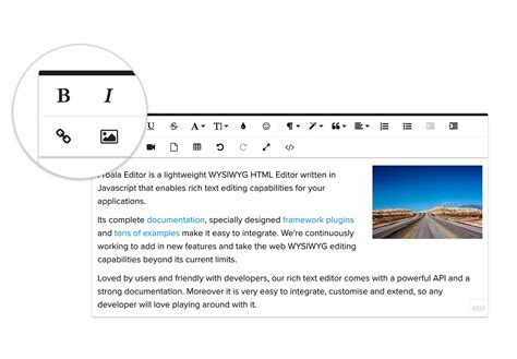 beautiful wysiwyg html editor javascript rich text