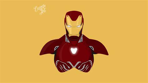 iron man avengers infinity war minimalism hd