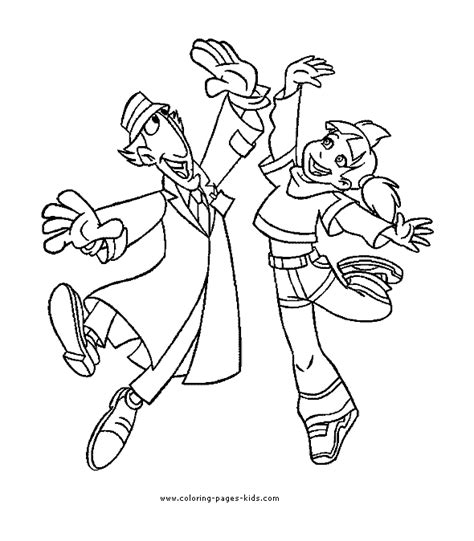 free coloring pages of funny cartoon characters