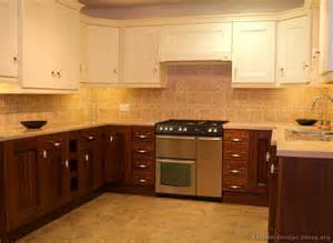 Kitchen Cabinets Two Tone Pictures Of Kitchens Traditional Two Tone Kitchen Cabinets Page 3