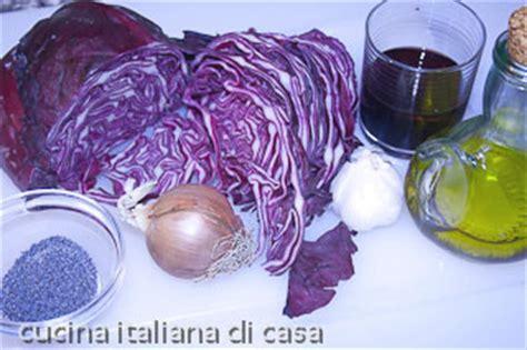 cucinare verza rossa ricetta verza rossa in padella