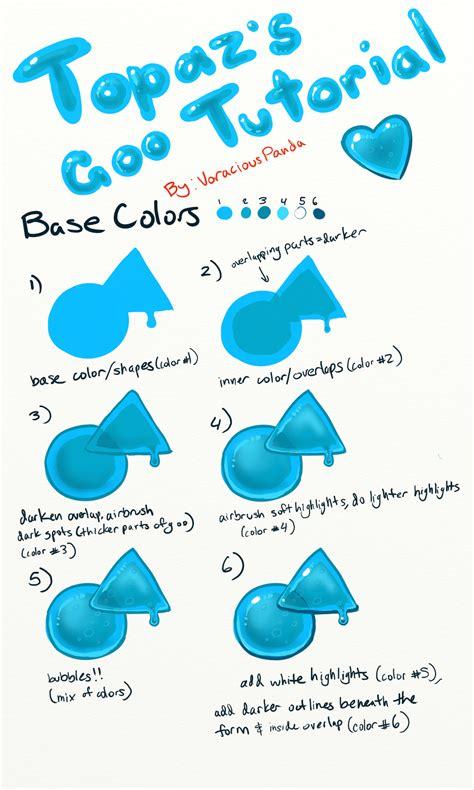 doodle drawing tutorials goo tutorial by voraciouspanda on deviantart