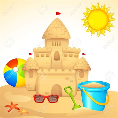sand castle clipart sand castle clipart animated pencil and in color sand