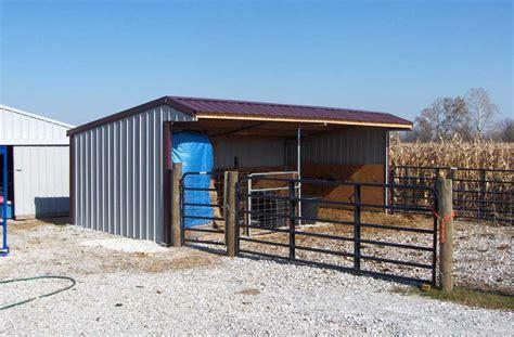 wrangler run  horse shelter kits klene pipe structures