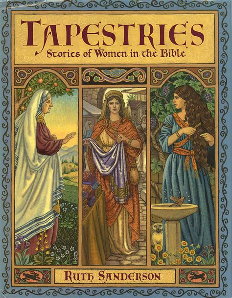 a bible tapestry books tapestries stories of in the bible ruth sanderson
