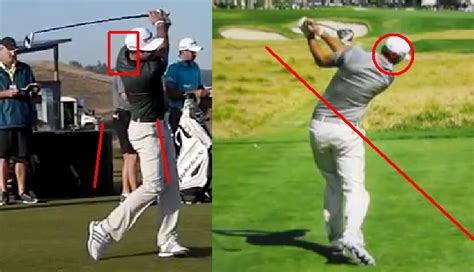 no hands golf swing dustin johnson golf swing analysis consistentgolf com