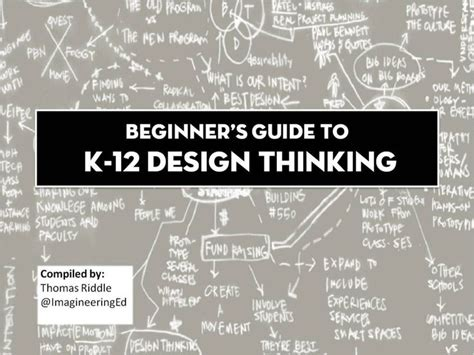 design thinking resources dozens of resources for design thinking in schools