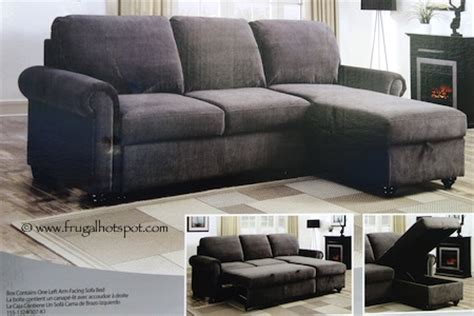 costco pulaski newton convertible sofa 659 99 frugal