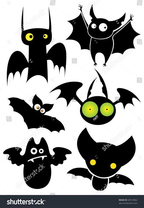 Set Bat set black bats vector image vectorielle