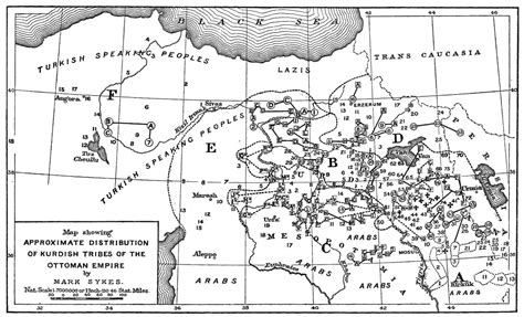the ottoman empire was founded by tribes in anatolia the kurds sykes picot and quest for redrawing borders