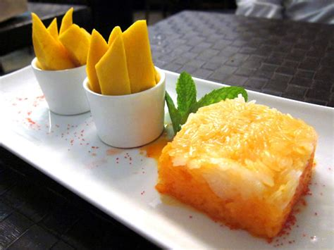 chitato mango sticky rice must try thai dishes in koh samui the world