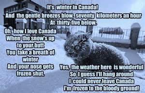 Canada Snow Meme - winter in canada funny pics comments o canada